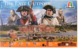 Italeri | 6180 | French and Indian War 1754-1763 The Last Outpost Battle Set |1:72