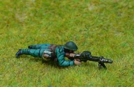 EarlyWarMiniatures | dutinf20 | 2 Lewis gunners firing | 1:72