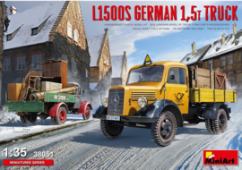 MiniArt | 38051 | L1500S German 1.5T truck | 1:35