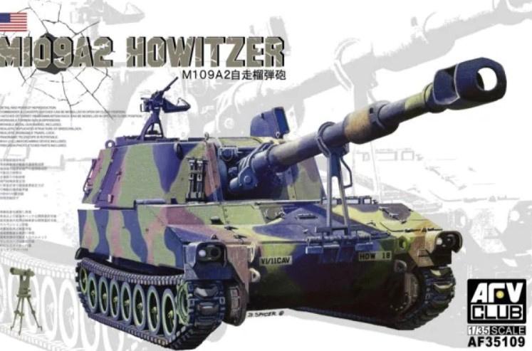 AFV Club   AF35109   M109A2 Howitzer   1:35