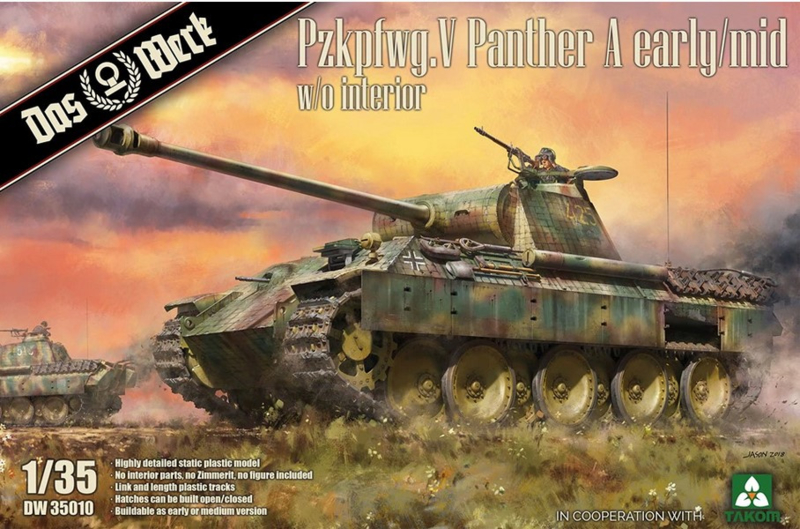 Das Werk   DW35010   Panther A early/mid   1:35