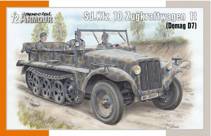 Special Armour | 72021 | Sd.Kfz.10 Zugkraftwagen 1t (Demag D7) | 1:72