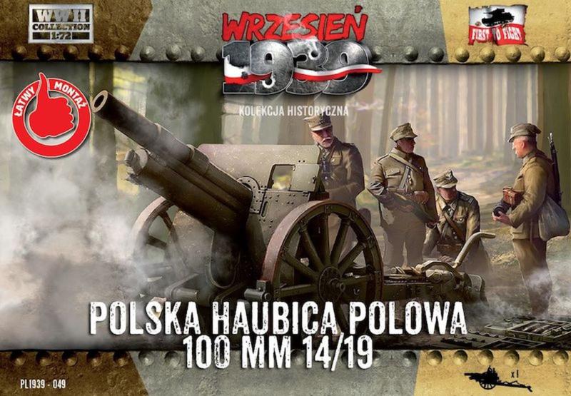 howitzer 100 mm wz.14 / 19