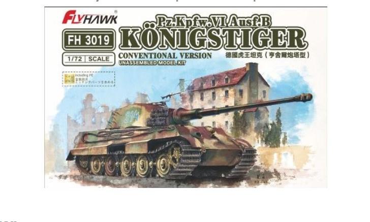 Flyhawk | FH3019 | Pz.Kpfw.VI Ausf.B Konigstiger | 1:72
