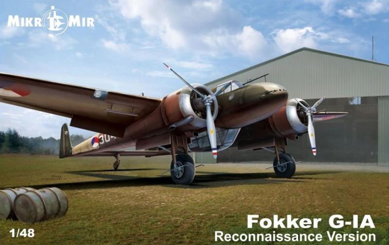 MikroMir | 48-018 | Fokker G-1A Reconnaissance version | 1:48