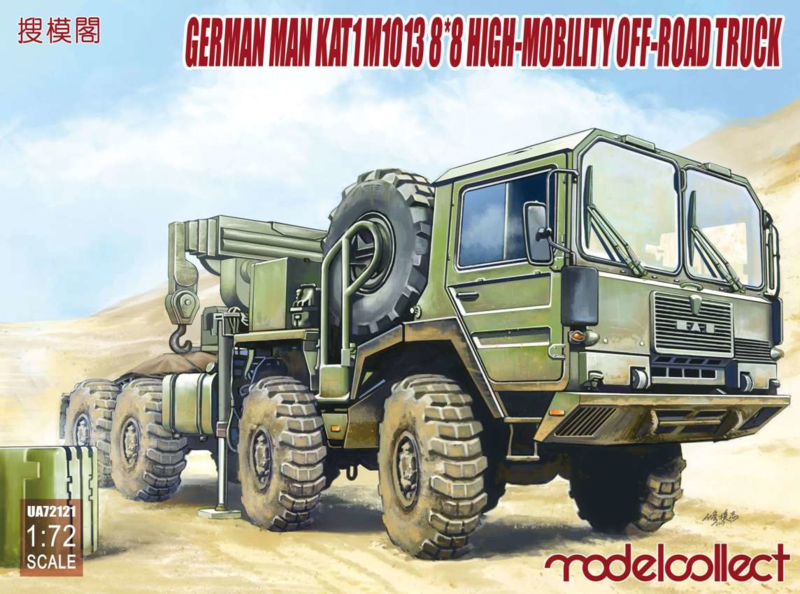 MAN Kat 1 M1013 8x8 off Road Truck | ModelCollect | www