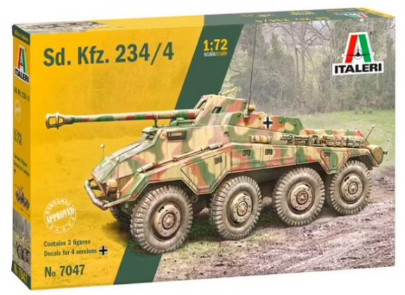 Italeri | 7047 | Sd.Kfz 234/4 | 1:72