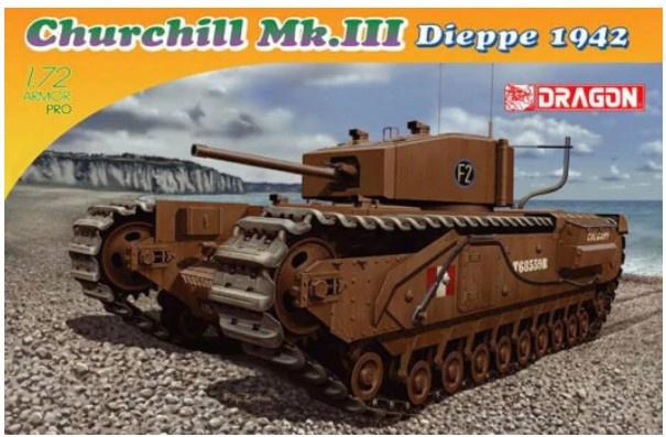 Dragon | 7510 | Churchill Mk.III Dieppe 1942 | 1:72