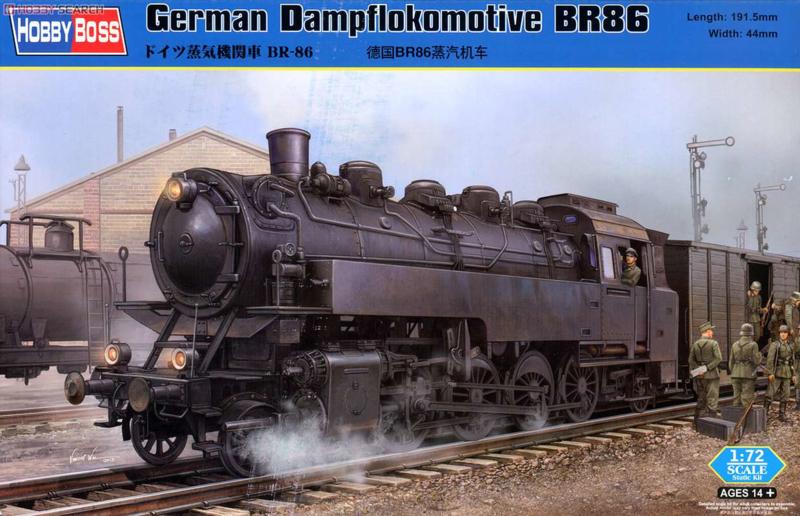 Hobbyboss   82914   BR-86 German Locomotive   1:72