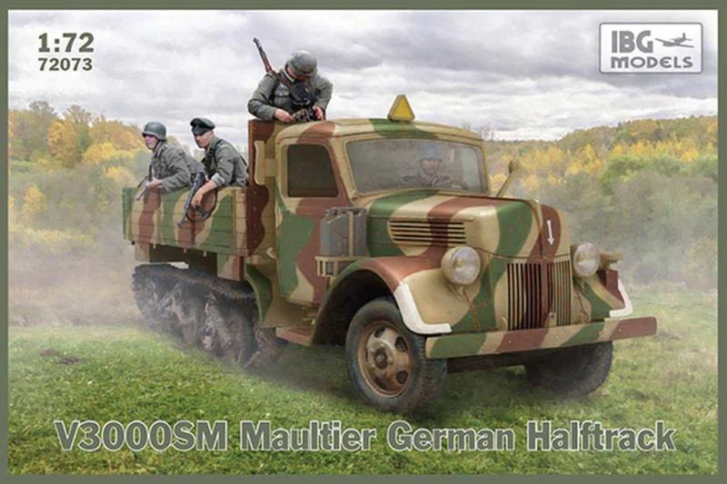 V3000SM Maultier Halftrack