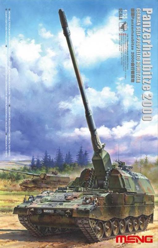Meng   TS-012   Panzerhaubitze 2000   1:35   NL/DE/GR