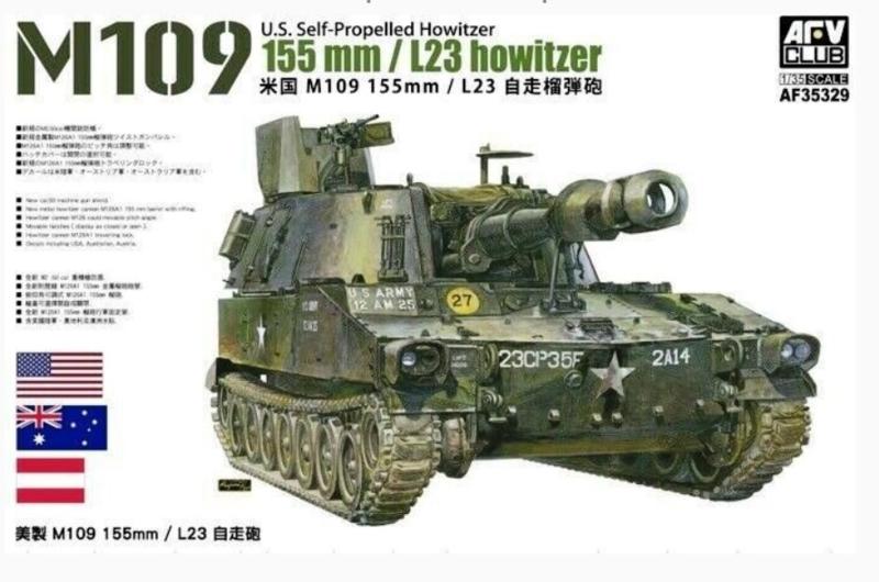 AFV Club   AF35329   M109 155mm.L23 howitzer   1:35