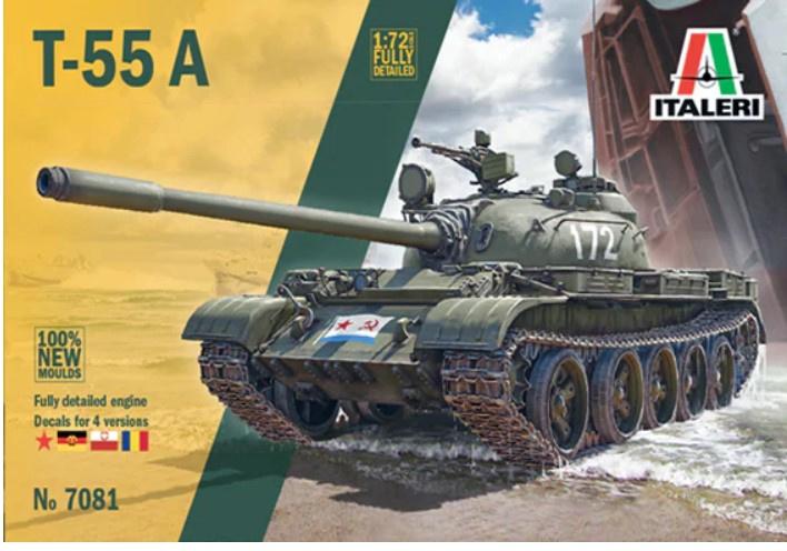 Italeri | 7081 | T-55 A | 1:72