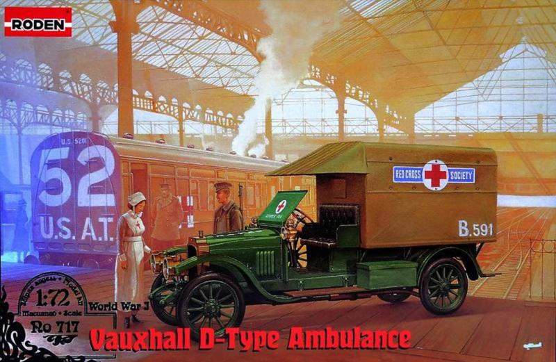 Vauxhall D-Type Ambulance