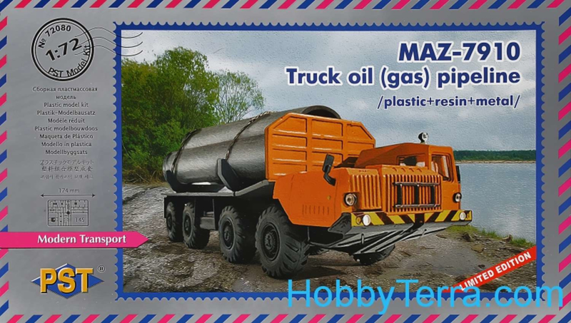 Maz 7910 - Truck Oil (Gas) Pipeline