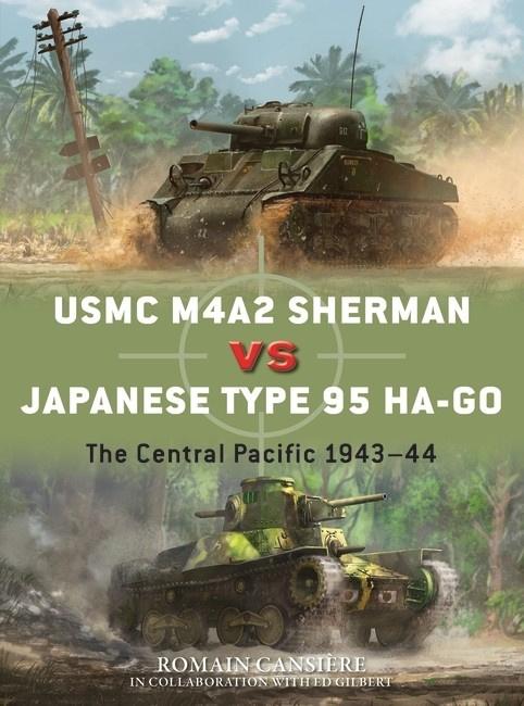 Osprey publ | Duel108 | USMC M4a2 Sherman VS Japanese type 95 Ha-Go