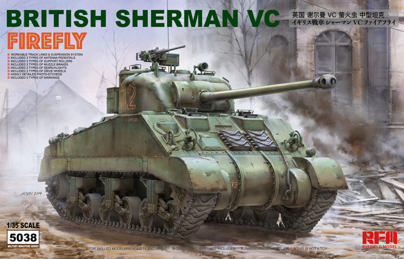 Rye Field Model | 5038 |  British Sherman VC Firefly | 1:35
