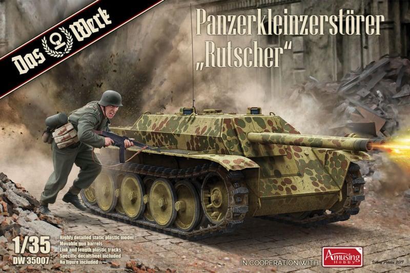 Das Werk | DW35007 | Panzerkleinzerstörer Rutscher | 1:35