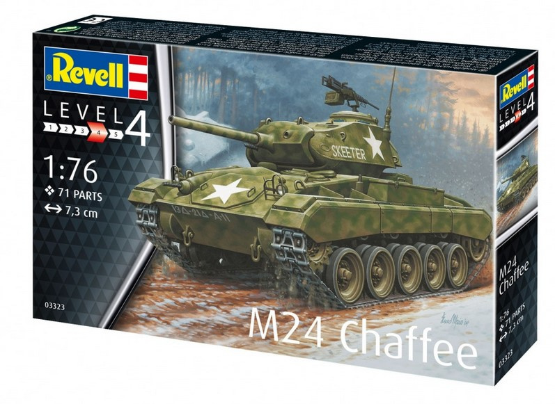 Revell | 03323 | M24 Chaffee | 1:76