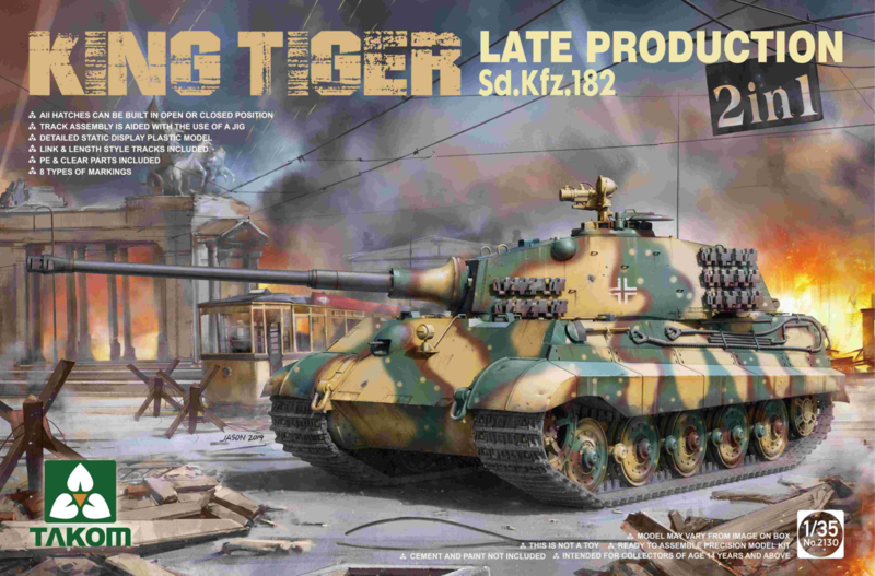King Tiger late production 2in1