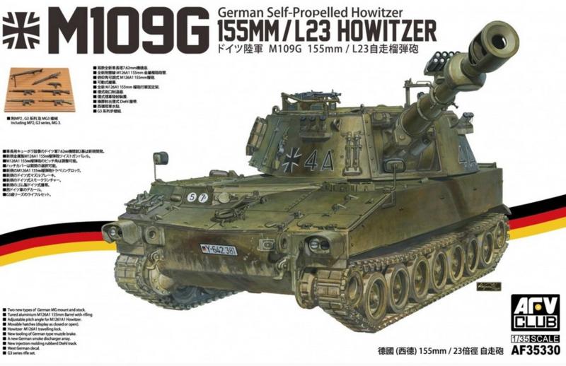 AFV Club   AF35330   M109G 155mm/L23 howitzer   1:35