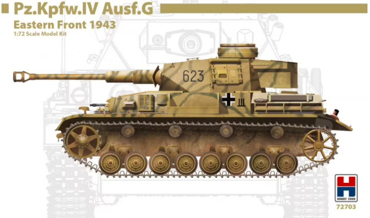 Hobby2000   72703   Pz.Kpfw.IV Ausf.G Eastern Front 1943   1:72