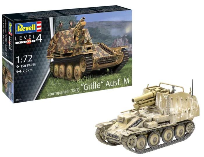 Revell   03315  Sturmpanzer 38(t) Grille Ausf. M   1:72