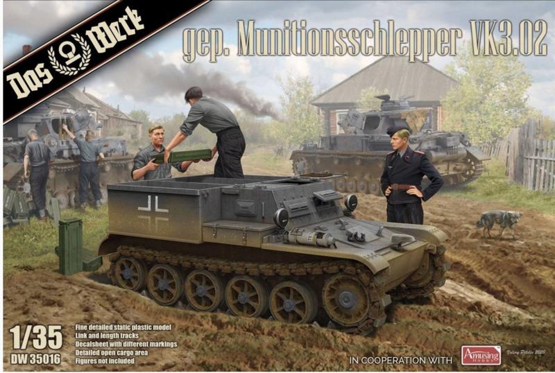 Das Werk   DW35016   gep. Munitionsschlepper VK.3.02   1:35
