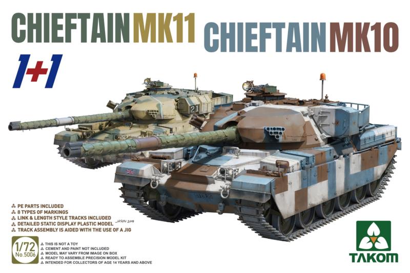 2 kits Combo Chieftain Mk.10 + Mk.11 (pre order)
