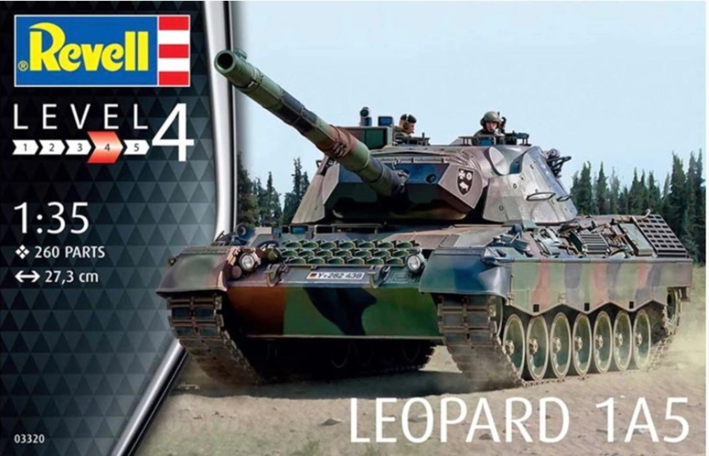 Revell   03320   Leopard 1A5   1:35