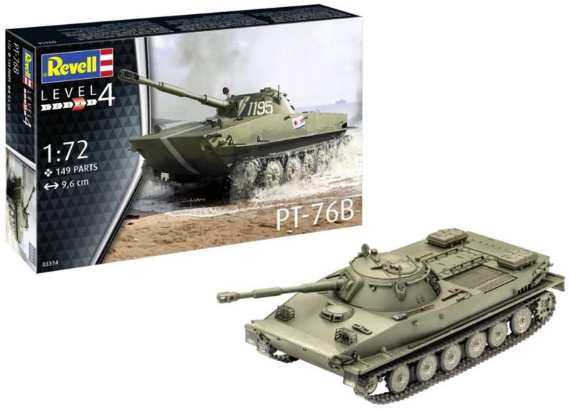 Revell | 03314 | PT-76B | 1:72
