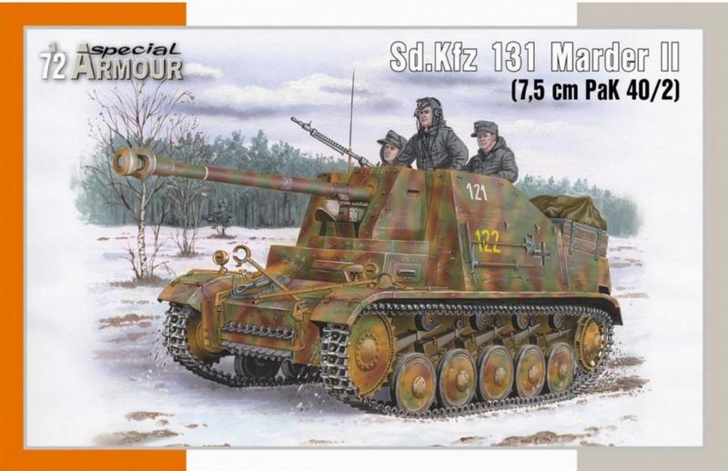 SpecialArmour | SA72020 | Sd.Kfz 131 Marder II (7,5 cm PaK 40/2) | 1:72
