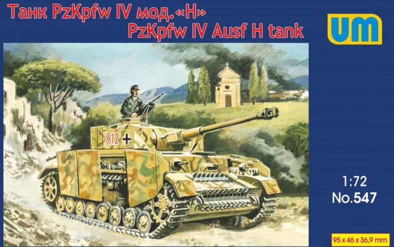UM   547   Pz.Kpfw. IV Ausf.H tank   1:72