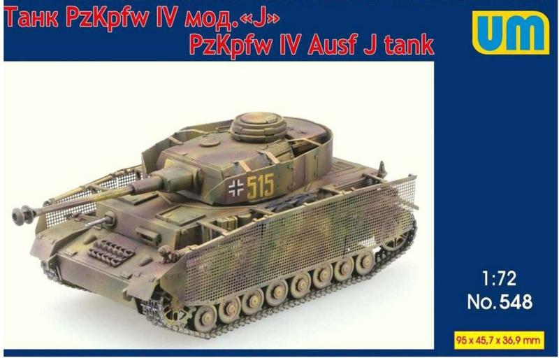 UM | 548 | Pz.Kpfw.IV Ausf.J | 1:72