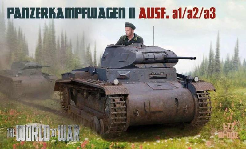 Panzer II Ausf. a1/a2/a3
