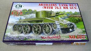 Artillery tank BT-2 with 76.2 mm gun