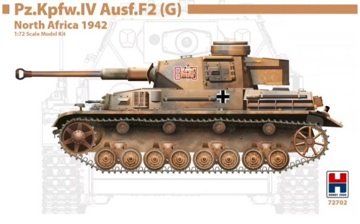 Hobby2000   72702   Pz.Kpfw.IV Ausf.F2 (G) North Africa 1942   1:72