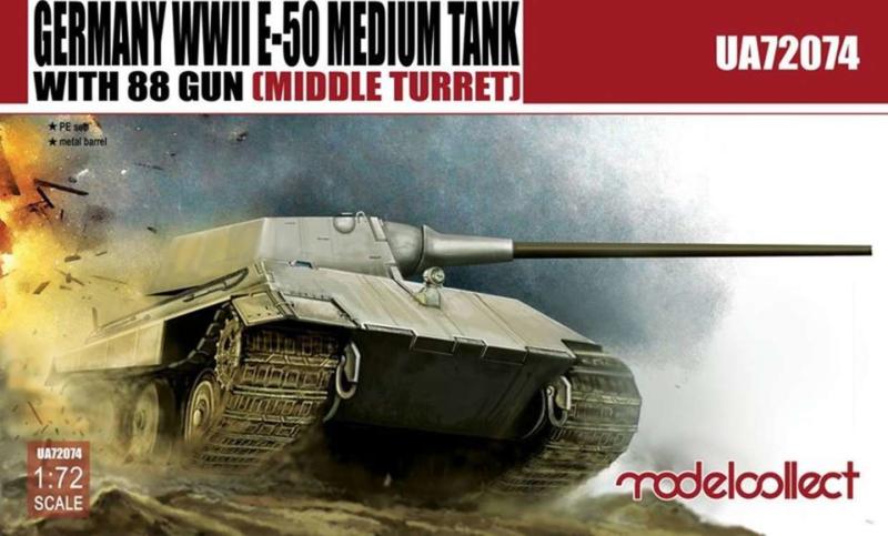 E-50 Medium Tank with 88mm Gun