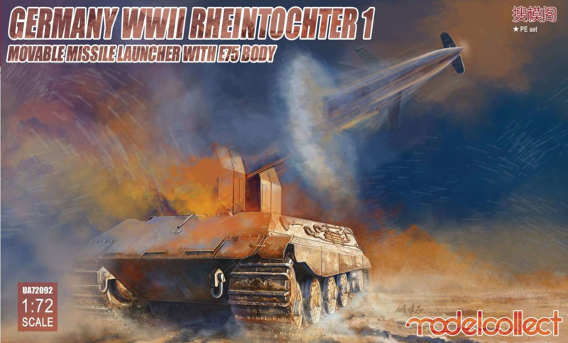 Rheintochter 1 Movable Missile Launcher with E-75 Body