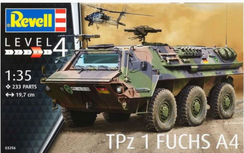 Revell   03256   TPz 1 Fuchs A4   1:35