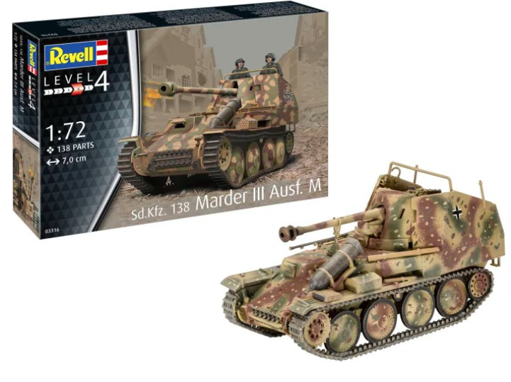 Revell | 03316 | Sd.Kfz.138 Marder III Ausf.M | 1:72