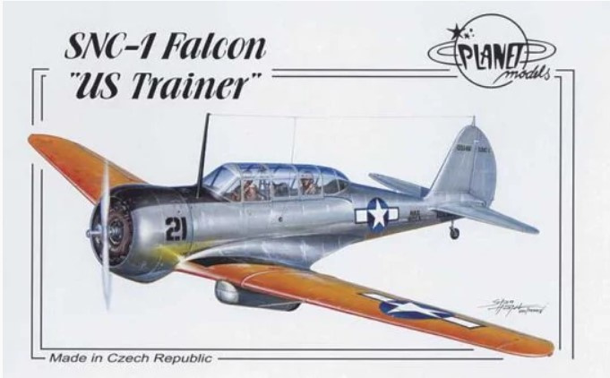 "Planet models   107   SNC-1 Falcon ""US trainer""   1:48"