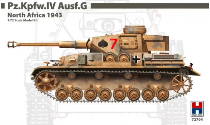 Hobby2000 | 72704 | Pz.Kpfw.IV Ausf.G North Africa 1943 | 1:72
