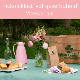 Picknickkist 'vol gezelligheid' 1 persoon