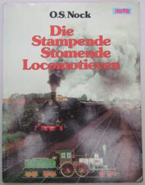 Die stampende stomende locomotieven