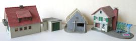 3 huizen