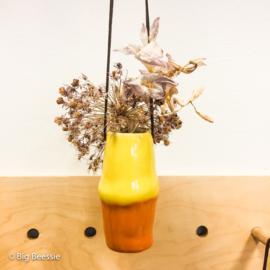 Hangvaasje 'Bollie' - oranje/geel