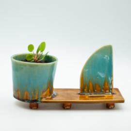 Phonie - planten/telefoonplankje