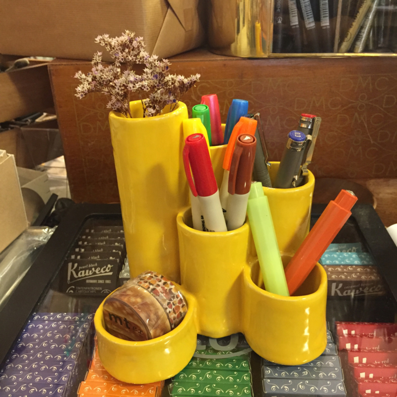 Vintage pennenbakje