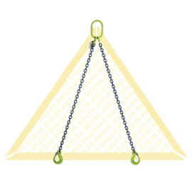 DELTA Ketting 2-sprong - G100 - 13mm - 9500/6700kg - Gaffelklephaak
